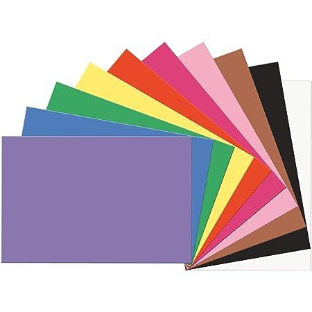"SunWorks Construction Paper, 10 Assorted Colors, 12"" x 18"", 100 Sheets"