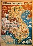 Vintage Reise INDOCHINA für VIETNAM, LAOS und KAMBODSCHA