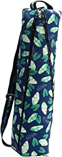F Fityle Waterproof Yoga Mat Carrier Bag Nylon Carrier Adjustable Strap - Washable, Scratch Prevention and Durable