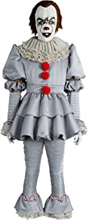 Adult Kids Cosplay Costume Halloween Deluxe Clown Outfit