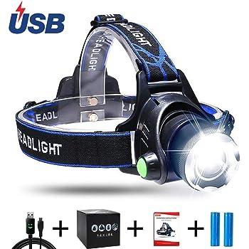 Doctorlight DL401 Penlite Luce da Lavoro Frontale ad 8 LED
