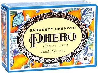 Sabonete Limão Siciliano, PHEBO, Amarelo, 100g