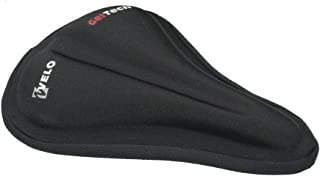 Velo Gel-Tech Saddle Cover Black Fixie Road Mountain Bike