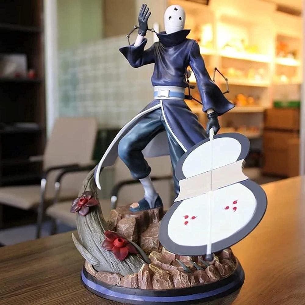 ZLCZZ Naruto Anime Outlet ☆ Free Shipping Akatsuki Series - Uchiha Colorado Springs Mall GK Figurine PV Obito