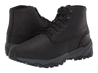 Merrell Icepack Guide Mid Lace Polar Waterproof (Black) Men