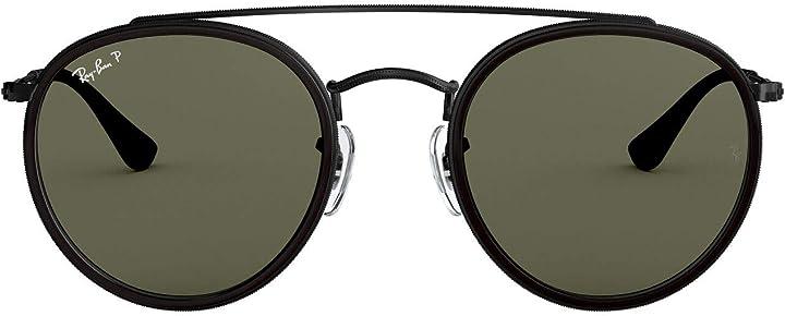 Occhiali ray-ban 0rb3647n, occhiali da sole unisex-adulto