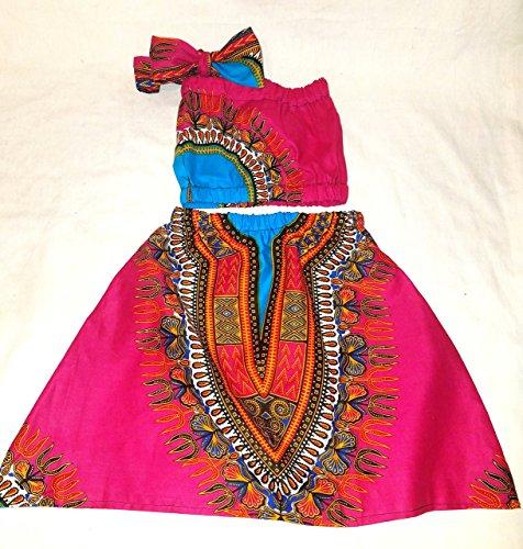 newborn dashiki /infant dashiki/dashiki set/African skirt/African babygirl clothes/baby set/ headwrap/Newborn clothes/African clothing/Ankara skirt/Kente Fabric/Girl skirt/dashiki set/african clothing