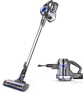 comprar comparacion MOOSOO aspiradora Escoba sin Cable, 4 en 1 Aspirador Vertical y de Mano, 1.3L/Cepillo Motorizado Flexible/Potente succión/...