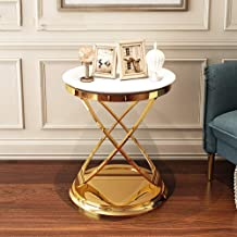 Home& Simple Furniture/Living Room Luxury Side Table Round End Table Telephone Table Corner Table Bedside Table 50 * 55.5C...