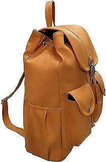 JSPM® Casual Girl's Backpack (Sp-1450, Mustard, Pack of 1)