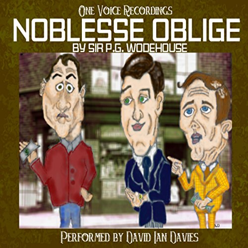 Noblesse Oblige audiobook cover art
