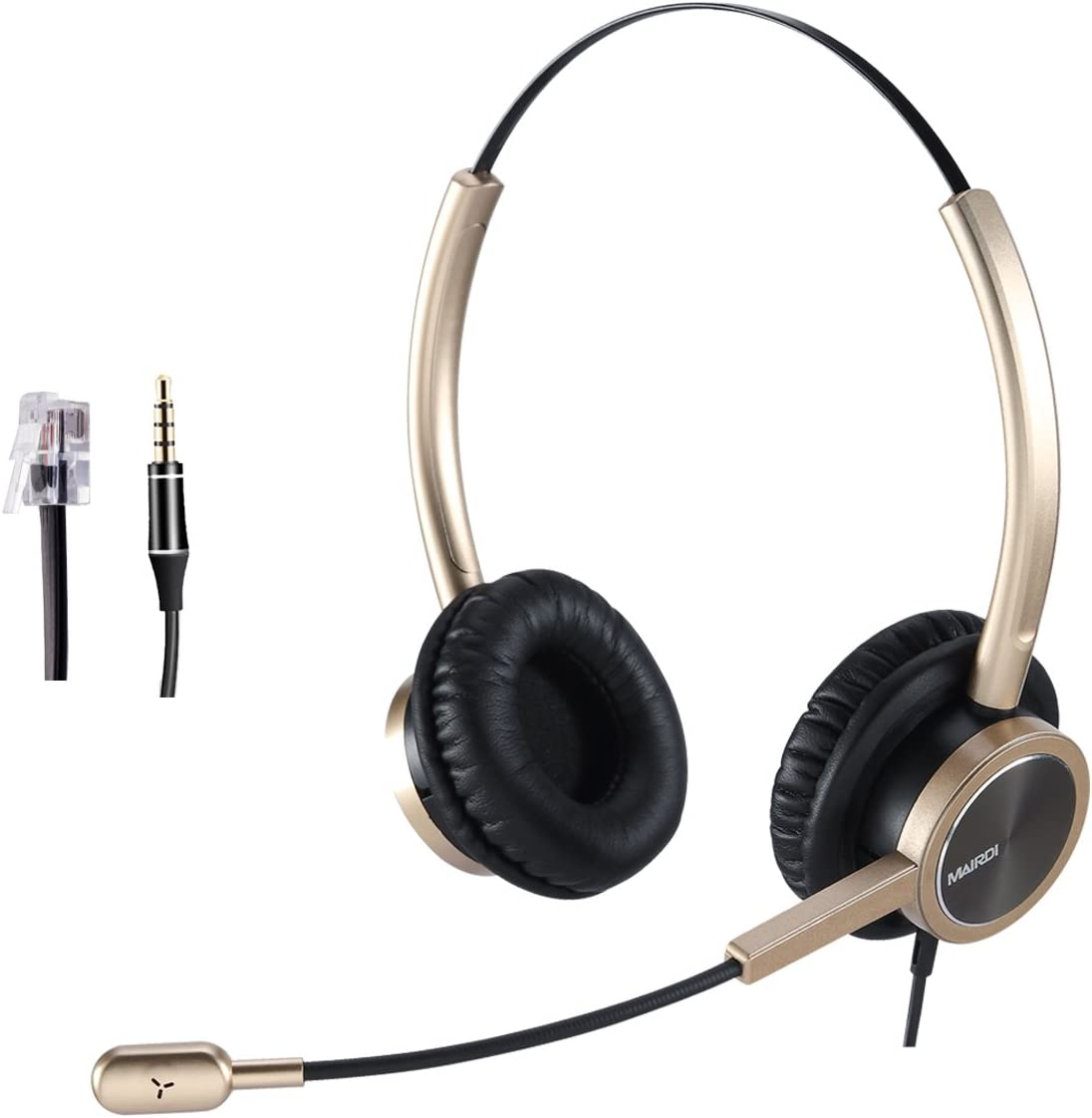 MAIRDI List price Telephone Headset with Limited Special Price Offic Noise Cancelling Microphone