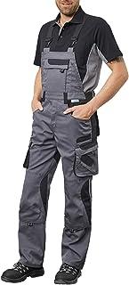 Pionier® workwear Salopette de travail | indéchirable résistant aux UV | Pantalon cargo avec poche pour téléphone portabl...