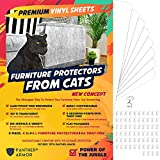 Panther Armor - 8(Eight)-Pack Furniture Protectors from Cat Scratch – Couch...
