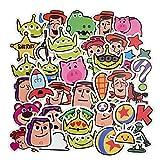 ZZHH SUNYU40 Pegatinas de Ordenador de Dibujos AnimadosBonitosPegatinas de decoración de la Caja del...