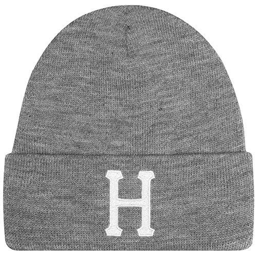 HUF Classic H Beanie Mütze - Grau - One Size