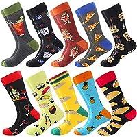 Démarquez-vous de la foule: Pourquoi n'y a-t-il que des chaussettes noires ou blanches pour hommes? Pourquoi une seule couleur et des motifs mats tout le temps pour les chaussettes pour hommes? Nous y voilà, les chaussettes pour hommes AMAZING de Bon...