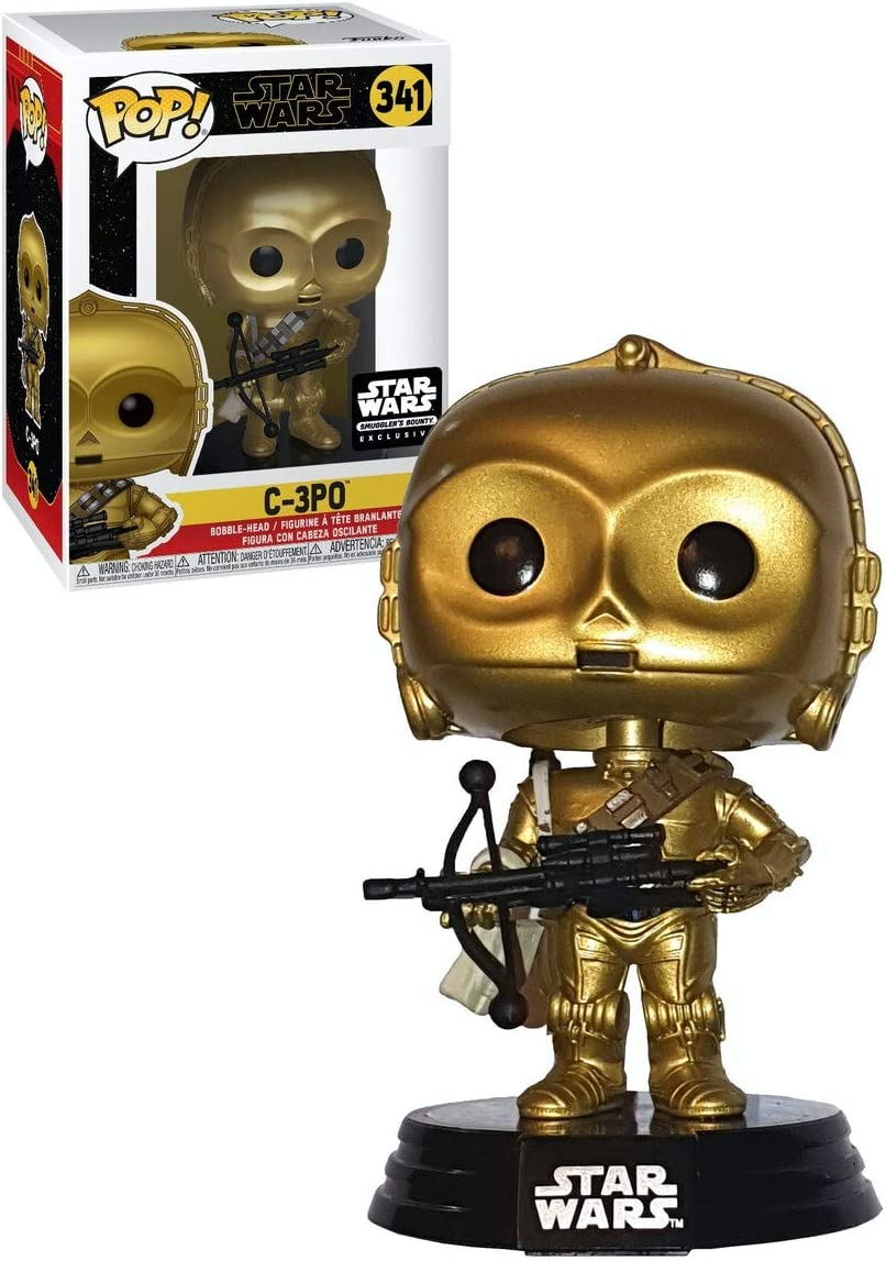 Funko Pop Star Wars C-3PO Unfinished 181 Smugglers Bounty Exclusive PREORDER