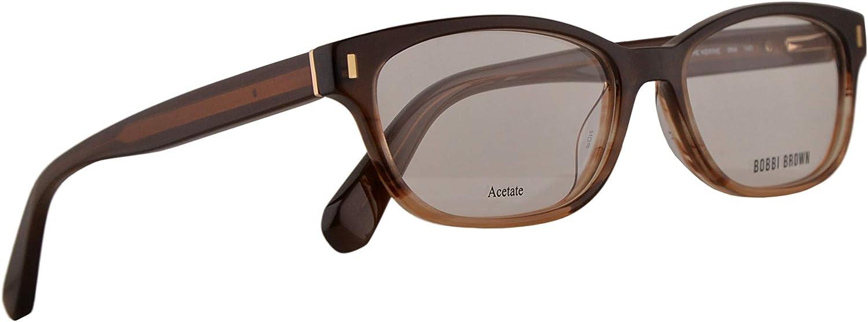 Bobbi Brown The Kerrie Eyeglasses 5116140 Havana Brown w Demo Clear Lens 9N4