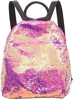 Wultia - Backpack Women Colorful Sequins Bag Versatile Portable Multi-Purpose Shoulder Bag Mochila escolar Feminina Gold