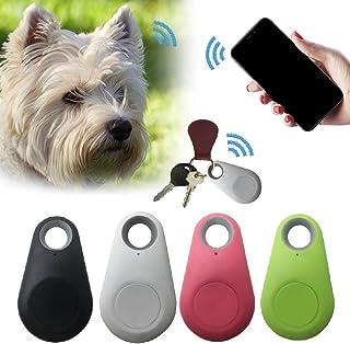 2 Pack Pets Smart Mini GPS Tracker Anti-Lost Waterproof Bluetooth Tracer For Pet Dog Cat Keys Wallet Bag Kids Trackers Fin...