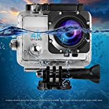 LESHP 4K Action Kamera 1080P 12MP Full HD WiFi Sport kamera 1050 mAh wasserdicht...