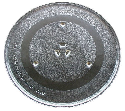 G.E. WB49X10002 Microwave Glass Turntable Tray, 13.5-inch