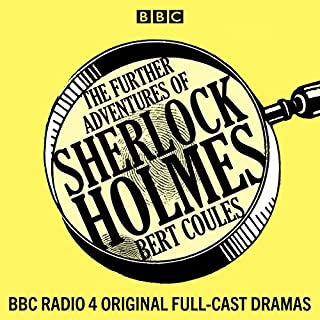 The Further Adventures of Sherlock Holmes audiobook cover art
