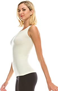 Kurve One Size Seamless Sleeveless Comfy Tank Top, Great for Undergarment, Maternity Top - Made in USA-