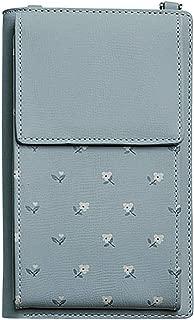Wiwsi Women Wallet Purse PU Leather Coin Cell Phone Mini Cross-body Shoulder Bag