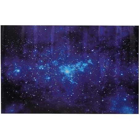 wwwhsl Alien,Aquarium Backdrop Sticker Wallpaper,UFO Portrait Space Crafts,Baby Shower Background W48xH18 Adult