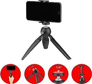 JOBY HandyPod Mobile Mini Trípode con Soporte GripTight ONE para DSLR y Cámaras sin Espejo Micrófonos LED Monitores y GoPro Vlogging Youtube Tik Tok