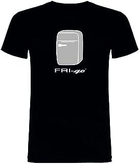 FRI-go T-Shirt Black Model con Logo - Stampa in Italia 2018