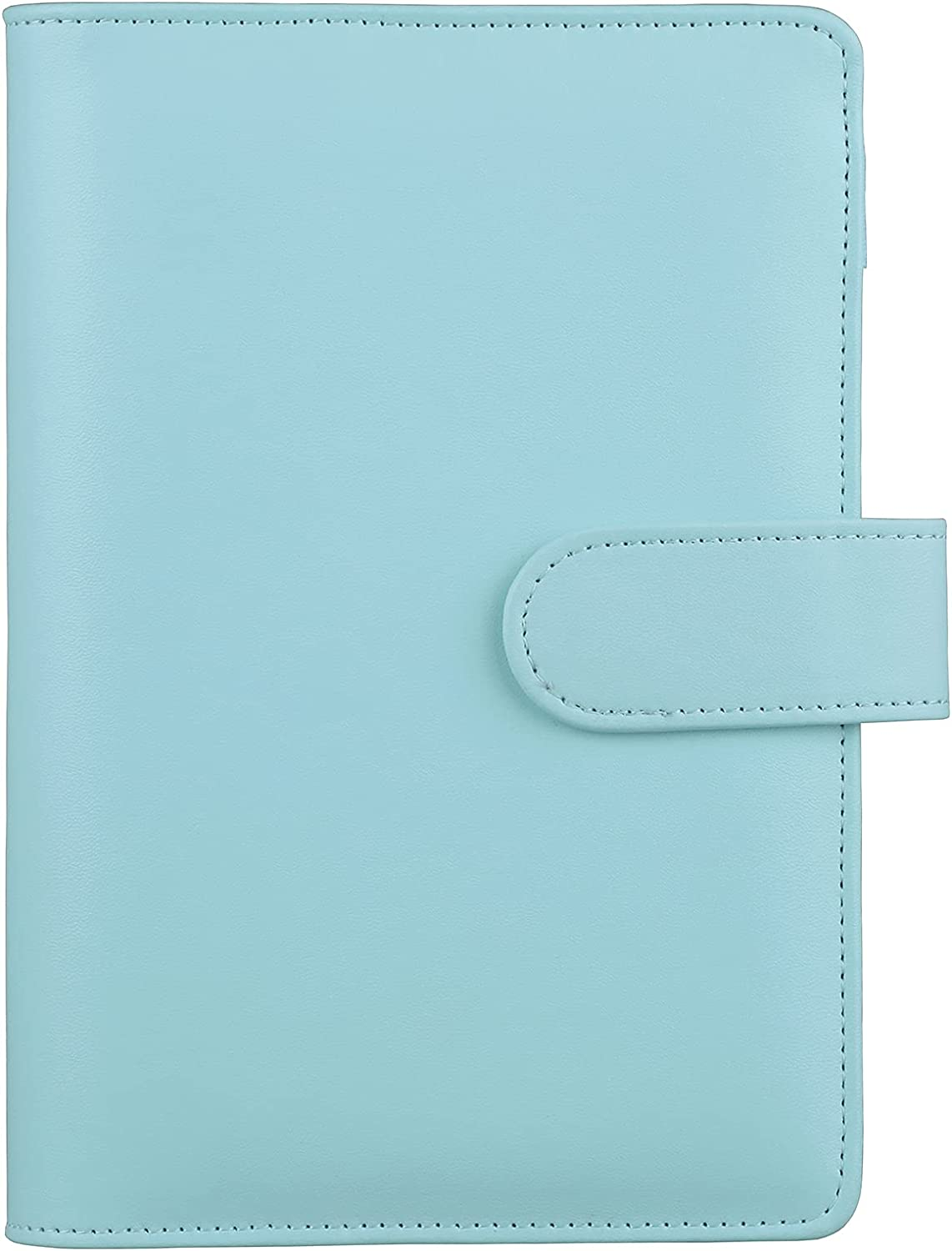 HAUTOCO A6 PU Leather Notebook Binder Refillable San Diego Mall half Ring 6 f