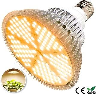 100W Led Grow Light Bulb, Sunlike Full Spectrum Grow Lights for Indoor Plants, E26 150 LEDs Plant Light Bulb for Hydroponics Indoor Garden Greenhouse Houseplants Vegetable Tobacco (150LEDs-Sunlike))