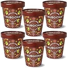 Nubocha Non Dairy Gelato Chocolate Keto Dream Pack - Keto - Gluten Free - Vegan - 0g Sugar - Non-GMO - Low Net Carbs - 6 Pints of Chocolate Flavor (6 Count)