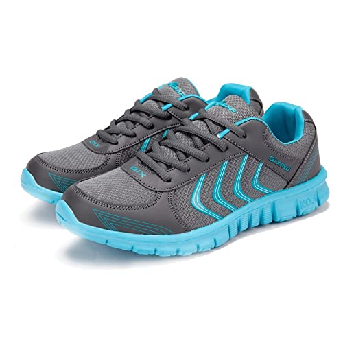 9a9e39f556db Ablanczoom Women s Lightweight Athletic Walking Sneakers Breathable Tennis  Road Running Shoes US4.5-10.5