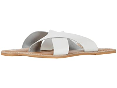 Matisse Pebble (White Leather) Women