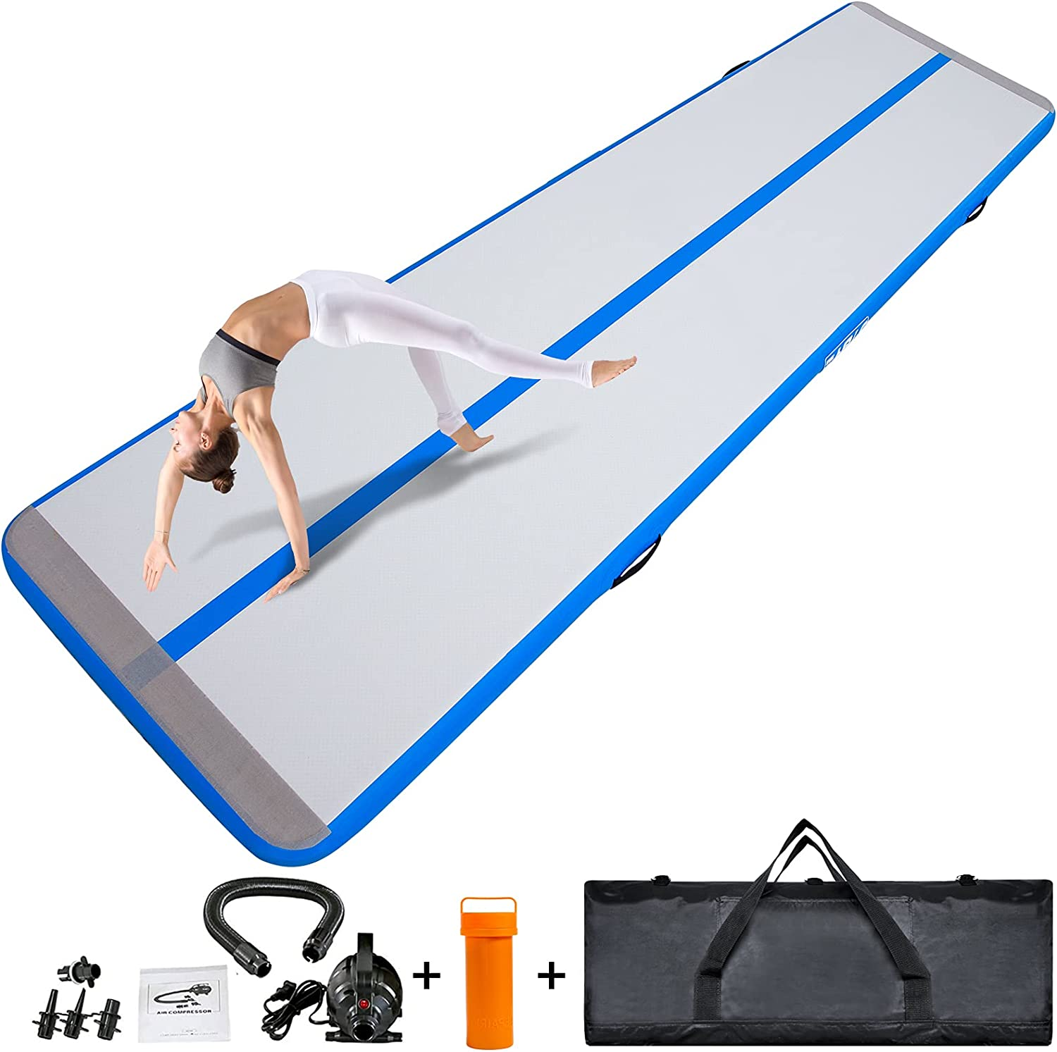 DAMA 10ft 13ft In stock Max 78% OFF 16ft Inflatable Mats Tumbling Home for Gymnastics