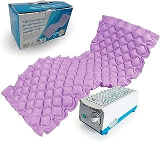 Mobiclinic, Mobi 1, Anti-decubitus matras, Wisselende cellen en compressor, graad 1 UPPs, 130 luchtcellen, luchtmatras, me...