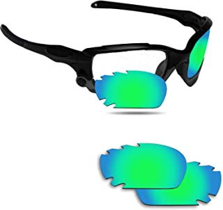 Fiskr Anti-Saltwater Replacement Lenses for Oakley Jawbone Vented Sunglasses - Various Colors