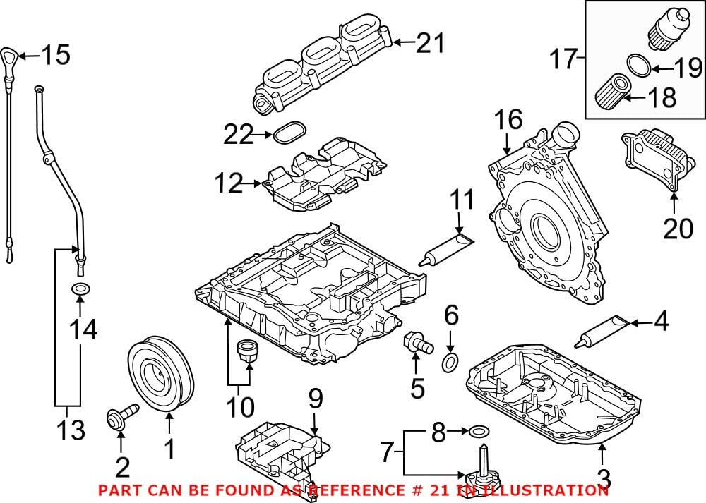 Genuine Ultra-Cheap Deals OEM Engine Intake for Max 77% OFF Audi Manifold 06E133110AT