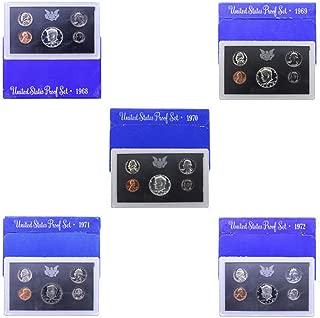 1968 S -1972 US Mint Set Clad Proof