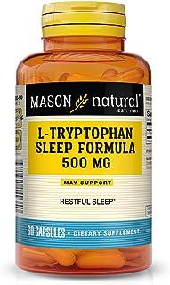 Mason Natural L-tryptophan Sleep Formula, 60 Capsules, 3 Count