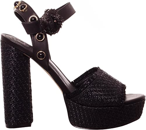 Guess chaussures Sandalo femmes FLMIC2 FAB05 noir PE18 PE18  dégagement
