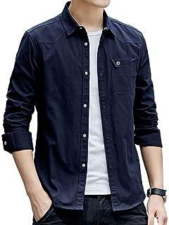 [ヴォンヴァーグ] シャツ ワイシャツ アウター カットソー トップス ボタン カジュアル クレリック お洒落 メンズ