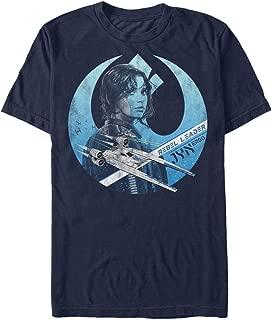 Star Wars Rogue One Men's Jyn Erso Rebel Crest T-Shirt