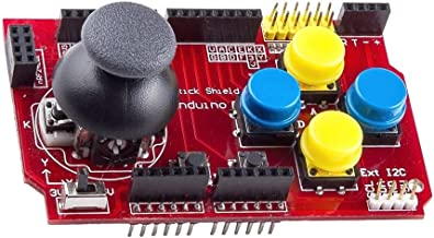 WINGONEER Gamepad Joystick Shield V1 Expansion Board Red Arduino
