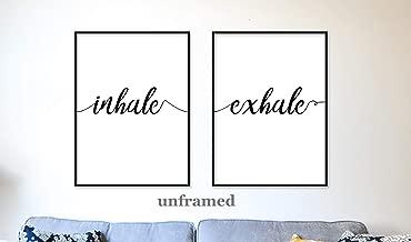 inhale exhale artwork