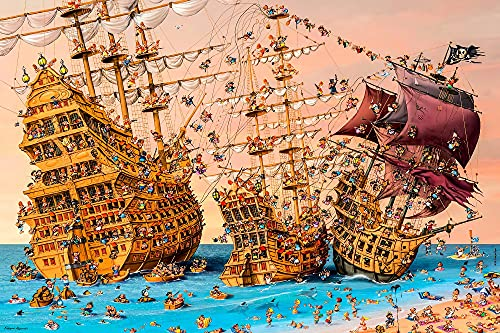 Kendra Decor Puzzles, Corsair Francois Ruyer, Jigsaw Puzzles 1000 Pieces (Vintage, 1000 Pieces)